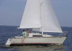 1989 c & c yachts wave 26 in colonial beach, va